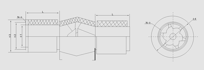 GXF型斜流式通风机主要技术参数