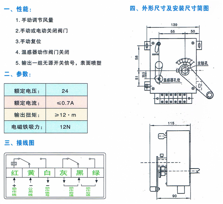 全自动排烟防火阀_消防通风排烟设备生产厂家_江西鑫