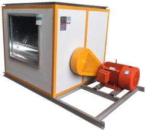 HTFC(DT)-II低噪声消防(两用)柜式离心久久偷拍箱(双速型)